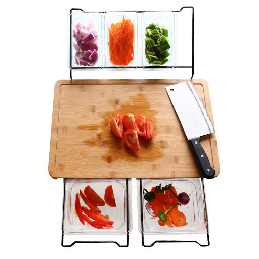 Cutting Board With Containers For Kitchen Accessories Best Gadget Store,Spa Website Inspiration