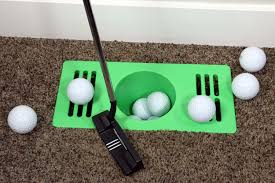Indoor Practice Golf Hole for Home Accessories®