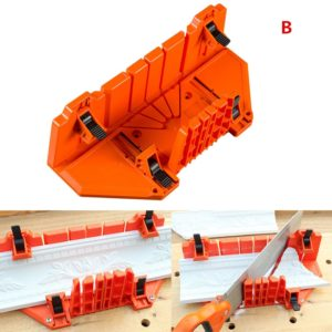 Adjustable Angle Clamp Miter Box for Woodworking Tools®