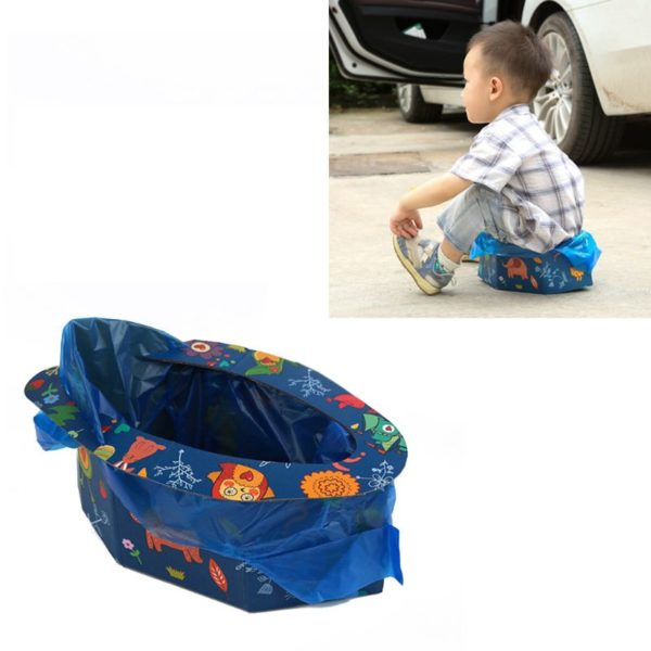 Portable Folding Potty Seat for Outdoor Activities®